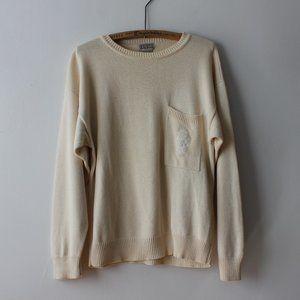 Vintage Cream Sweater
